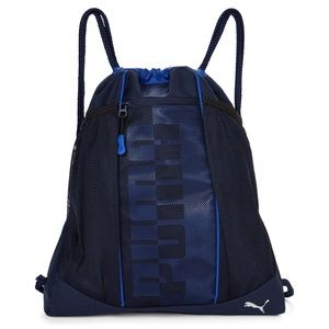 NWT PUMA CARRYSACK MEN'S BLUE BACKPACK
